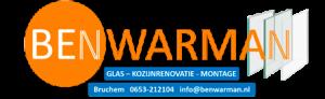 Logo - Ben Warman - Glas, Kozijnrenovatie en Montage